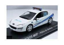 "Peugeot 407 ""Police de Genève"" (Norev 1:43 / 474741)"