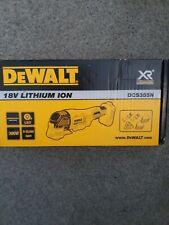 Dewalt DCS355N 18v XR Brushless oscillating multi tool naked body only