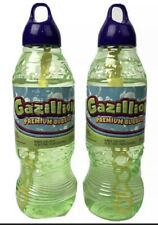 Lot of 2 Gazillion Bubbles 1 Liter Bubble Solution 2 Liters Total NEW w/ Wand
