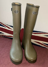 Le Chameau Men's Wellies 'Vierzon' Wellington Boots Size UK:9 EUR:43