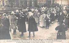 uk42983 funerailes de leopold II roi des belges royalty