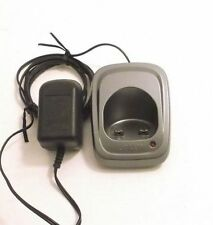 gray Uniden Dcx150 remote charger base wP - Dect 1588 1580 1560 handset phone ac