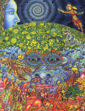 Signed Blotter Art - Psychedelic Eyes of the Mind by Jeff Hopp