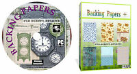 20000 Backing Papers Card Verses Scrapbook Card Making Decoupage Craft DVD Disk
