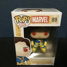 X-Men Unmasked Cyclops Red Eyes Funko Pop Vinyl Figure My Geek Box Exclusive