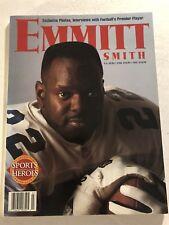1996 Sports Heroes DALLAS COWBOYS Emmitt SMITH Commemorative 128 pgs 100s Photos