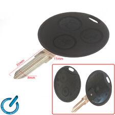 MANDO CARCASA LLAVE KEY case shell SMART 450 FORTWO 451 FORFOUR CABRIO 3 botones