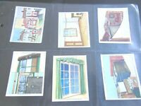 AIR RAID PRECAUTIONS war by Churchman 1938  card set complete 48 cards NICE LOT