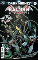 DC COMICS BATMAN WHO LAUGHS #1 2nd PRINT VARIANT METAL TIE COVER A