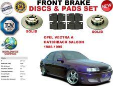 para OPEL VECTRA A Berlina Hatchback 88-95 Delante RESISTENTE Juego discos freno