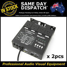 2x 4 Channel DMX 512 Stage Lighting System Dimmer Switch Pack 240V Four Chaser