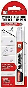 White Furniture Touch up Pen Marker Permanent Remove Marks for Cabinets Floor