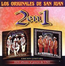 Los Originales de San Juan : Cantina De Mi Barrio  Quiero Quemarme l CD