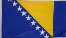 NEW 3ftx5ft BOSNIA INDOOR OUTDOOR YARD FLAG