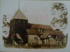"PRINT 10"" X 7""  ST PETERS CHURCH - OLD CHURCH TADLEY HAMPSHIRE c1903"