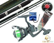 Complete Fishing Kit Set Hunter Pro 11ft Carbon Fishing Rod Reel & Tackle