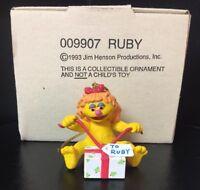 1993 Jim Henson Sesame Street Muppets RUBY Christmas Ornament