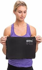 """ColPac Cold Therapy, Black Polyurethane, Standard-Size Cold Pack (10"""" x 13.5"""")"""