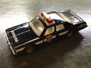 Matchbox Superkings Plymouth Gran Fury Police Car Made in England 1979