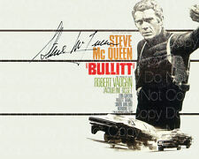 Steve McQueen signed Bullitt Papillion 8X10 photo picture poster autograph RP 3