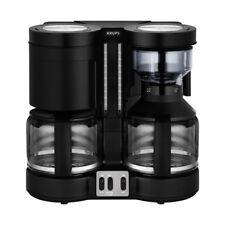 KRUPS KM 8508 DuothekPlus Doppel-Kaffeeautomat Filterkaffeemaschine Kaffee/Tee