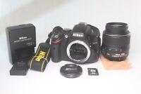 READ! Nikon D5100 16.2MP Digital SLR Camera Kit AF-S DX VR 18-55mm F3.5-5.6 G