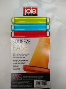 Joie Msc Squeeze ease set of three assorted colors toothpaste cosmetics