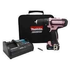 Makita perceuse Batterie 12V de coloris rose Edition + 2,0 Ah hp331dsap1