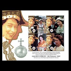 Antigua 2002 - Coronation of H.M. The Queen Elizabeth II Royalty - Sc 2542 MNH