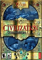 Sid Meier's Civilization III Gold Edition Pc New Boxed Ultimate World Conquest