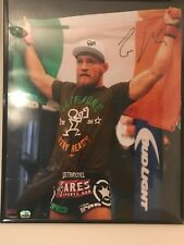 Conor McGregor signed UFC photo Fanatics Authentic COA