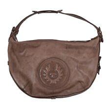 Belstaff Handtasche Purse Leder Leather Braun Brown Schultertasche Shoulder Bag