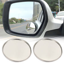 "Blind Spot Mirror, 2"" Round HD Glass Frameless Convex Rear View Mirror,Pack of 2"