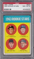 1963 Topps #544 RUSTY STAUB (RC)  PSA 8 NM/MT Houston COLT 45S  CENTERED!