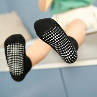 NiceBaby Girls Boys Non Slip Ankle Socks with Grips fit Infant Toddler Kids