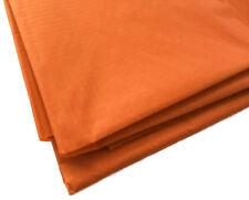 Orange Waterproof Rip Stop Ripstop Fabric Kite Nylon Material Cover 150cm Wide