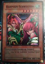 Harpyien Schwestern MRD Super Rare 1.Auflage NM Yugioh Sammlung Selten Oldschool