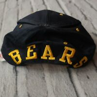 Vintage 90s University of California Berkeley Bears Spellout Snapback Hat Cap UC