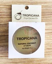 1 Pcs 10 g TROPICANA Natural Coconut Lip Balm Coconut Delight