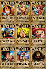 One Piece WANTED Posters PACK (A3: 27 x 41) - MUGIWARA PIRATES