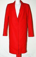 Cappotti, giacche e gilet da donna rossi Zara lana