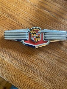 1941 Cadillac Trunk Emblem Series 61 62 67 75 Pre War 41 GM