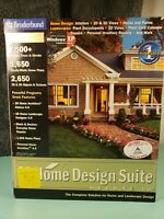 Broderbund 3D Home Design Suite Deluxe Version 4.0 Sealed Never Used Brand New