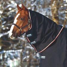 Horseware Rambo OPTIMO TURNOUT HOOD Neck Cover Lightweight 0g Black/Orange S-XL