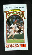 Jim Rice--Boston Red Sox--1985 Pocket Schedule--BayBanks