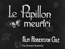 DVD The Broken Butterfly (Maurice Tourneur, 1919) Lew Cody, Mary Alden