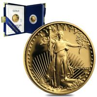 1991 P 1/4 oz $10 Proof Gold American Eagle (w/Box & COA)