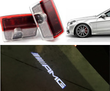 AMG LOGO UNDER LED PUDDLE PROJECTOR GHOST LIGHTS MERCEDES BENZ W176 W205 W212