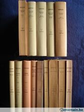 Collection Budé Belles Lettres Latin-Grec (livres brochés-reliés-reliés cuir)