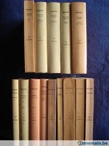 Collection Budé Belles Lettres Latin-Grec (brochés-reliés-reliés cuir)